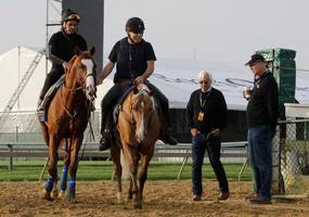 For all the uncertainty in horse racing, there's still Bob Baffert at the Preakness