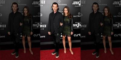 Gavin Rossdale and rumored girlfriend Natalie Golba step out for 'John Wick 3' premieres