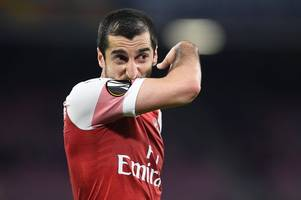 Azerbaijan FA issues Henrikh Mkhitaryan statement over safety concerns at Europa League final