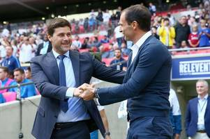 'He's off to Juventus!' - Spurs fans fearing Pochettino exit following Massimiliano Allegri news