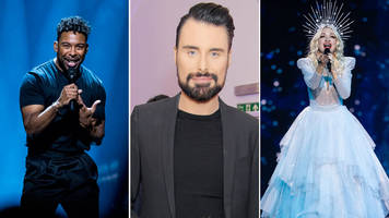 eurovision 2019: rylan clark-neal picks his top five countries