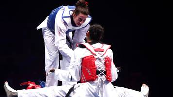 gb's walkden wins taekwondo title as disqualified zheng left in tears