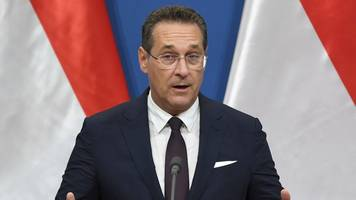 heinz-christian strache: vice-chancellor in damning video