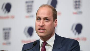 Prince William opens up about mental health pressures