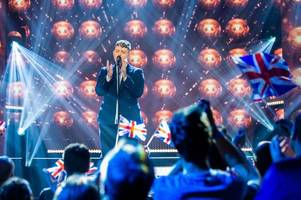 UK's Michael Rice finishes in 26th place in the Eurovision Song Contest