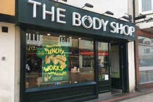 new blow to high street as the body shop announces closure of scunthorpe branch