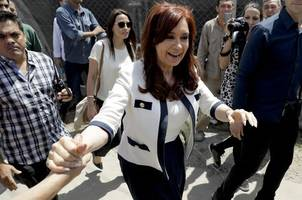 argentina's cristina fernandez to run as vice presidential candidate