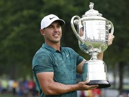 Brooks Koepka shatters 36-hole record, builds 7-shot lead at PGA Championship