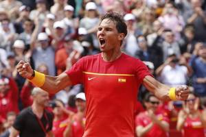 italian open: rafael nadal gets his revenge over stefanos tsitsipas to reach final