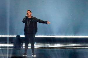 eurovision failure looms for michael rice as uk slips down leaderboard again