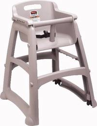 All Rubbermaid Commercial Products Sturdy Chair(TM) High Chairs are Compliant with New Federal Standard (ASTM F404-18)