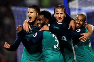 danny rose reveals the details of harry kane's half time team talk in comeback win against ajax