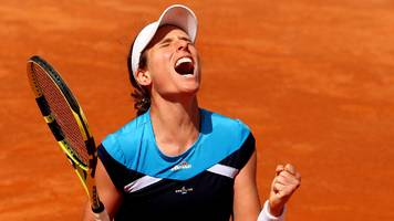 italian open: johanna konta reaches final with victory over kiki bertens