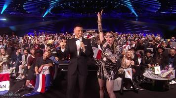 Madonna at Eurovision: 'Music makes the people come together'