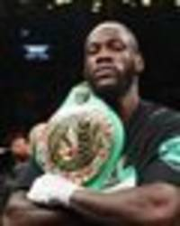 Deontay Wilder makes Anthony Joshua PROMISE after brutal Dominic Breazeale knock-out