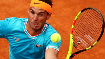 Italian Open: Rafael Nadal beats Novak Djokovic 6-0 4-6 6-1 in final