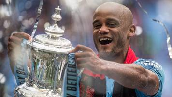 Vincent Kompany: Manchester City captain to leave after 11 years