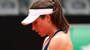 Konta beaten by Pliskova in Italian Open final