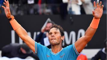 Nadal defeats Djokovic to win Italian Open