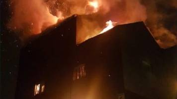 'severe fire' rips through factory unit in cradley heath