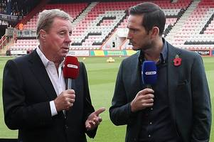 frank lampard's impact at derby county no surprise to harry redknapp