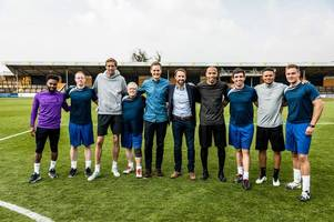 a royal team talk: prince william's mental health football stars show sees hull man take starring role