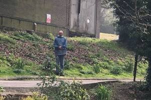 silent monk reported to police for 'creeping out' owner of  gloucestershire visitor attraction