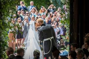 Prince Harry and Meghan Markle share new wedding photos on first anniversary