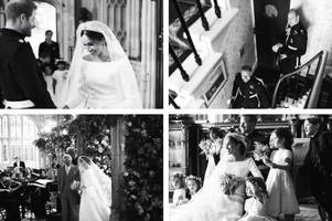 Prince Harry and Meghan Markle share unseen wedding photos on anniversary