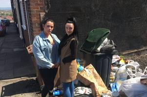 'there's used needles, nappies and rotting food...' - families' calls to tackle fly-tipping in 'no man's land alley' falls on deaf ears