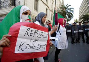 algerians continue to protest, seeking completely new political system