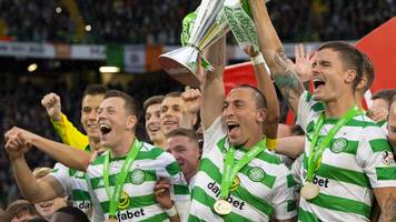 watch: celtic lift eighth scottish premiership title in a row