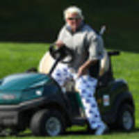 golf: fans get around john daly and his cart at the pga championship but comical scenes hide a deeper pain