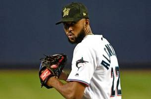 Sandy Alcántara throws complete-game shutout as Marlins sweep Mets