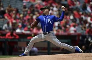 duffy pitches royals past angels 5-1 for 3rd straight win