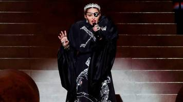 eurovision 2019: what happened to madonna's performance?
