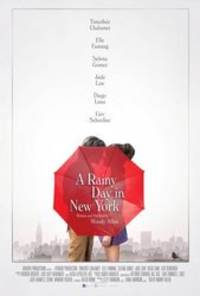 A Rainy Day in New York - cast: Timothee Chalamet, Elle Fanning, Selena Gomez, Jude Law, Liev Schreiber, Suki Waterhouse, Diego Luna, Annaleigh Ashford, Rebecca Hall, Cherry Jones, Will Rogers, Kelly Rohrbach