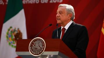mexico wants us support for its new central america migration plan
