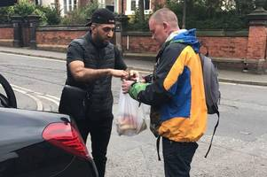 thousands go to funeral of normanton barber, 35, who fed the homeless every week