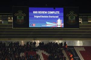 why var will not be used in derby county's championship play-off final