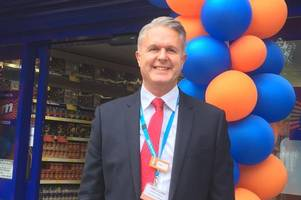 gloucestershire man in charge of rolling out hundreds of new b&m stores speaks of pride at latest opening near to home