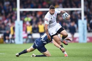 the gloucester rugby players that staked selection claims in respectable defeat at sale sharks