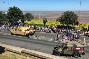 new details revealed of what to expect at armed forces day 2019 in cleethorpes
