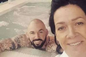 'what the hell is he doing, living it up at the weekend in a jacuzzi?' drug dealer on day release from prison spends day in a spa with his mum