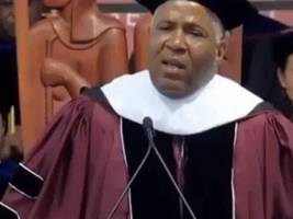 diddy + big boi react to billionaire robert f. smith pledging to pay for class of 2019's student debts