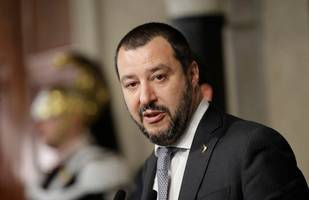 italy's salvini fumes as ruling partner slows anti-migrant bill