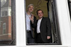 latest front for assange to defend – his personal belongings and computers