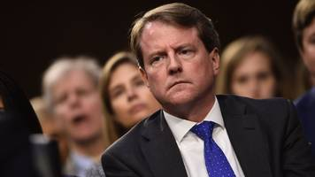 Don McGahn: White House directs former lawyer not to testify