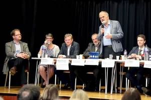 eu election hustings row in stirling