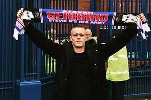 man charged after death of rangers fan cameron mcmillan in motherwell